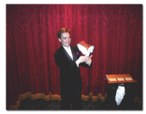 David Sandy at the Magic Castle